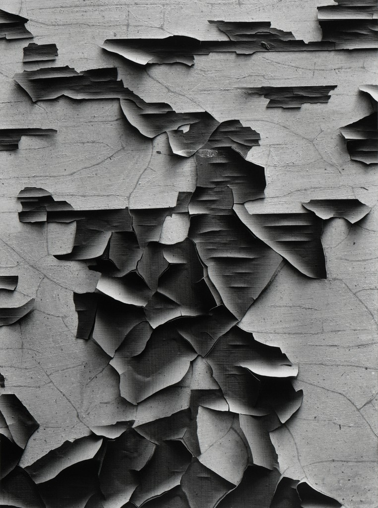 Jerome, Arizona (1949) by Aaron Siskind. 1. He sets the bar high for old paint. 2. This online reproduction doesn't hold a candle to an original print. It's one of those special images that makes it clear the difference between a great print and an okay one.