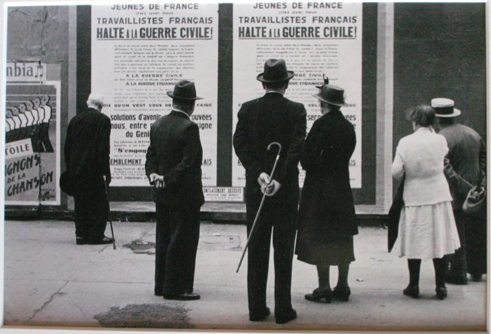 "Rudolph Burkhardt, c.1940 ""War Posters, France"""
