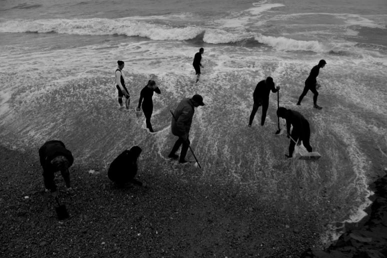 Seaglass Hunters, Davenport, CA 2015
