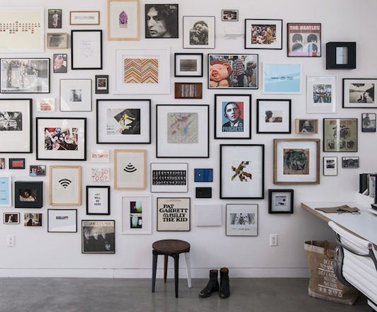 Mix and Match Pictures and Frames… it's actually sorta hard to make it work. FOR MORE INFO:  WEB