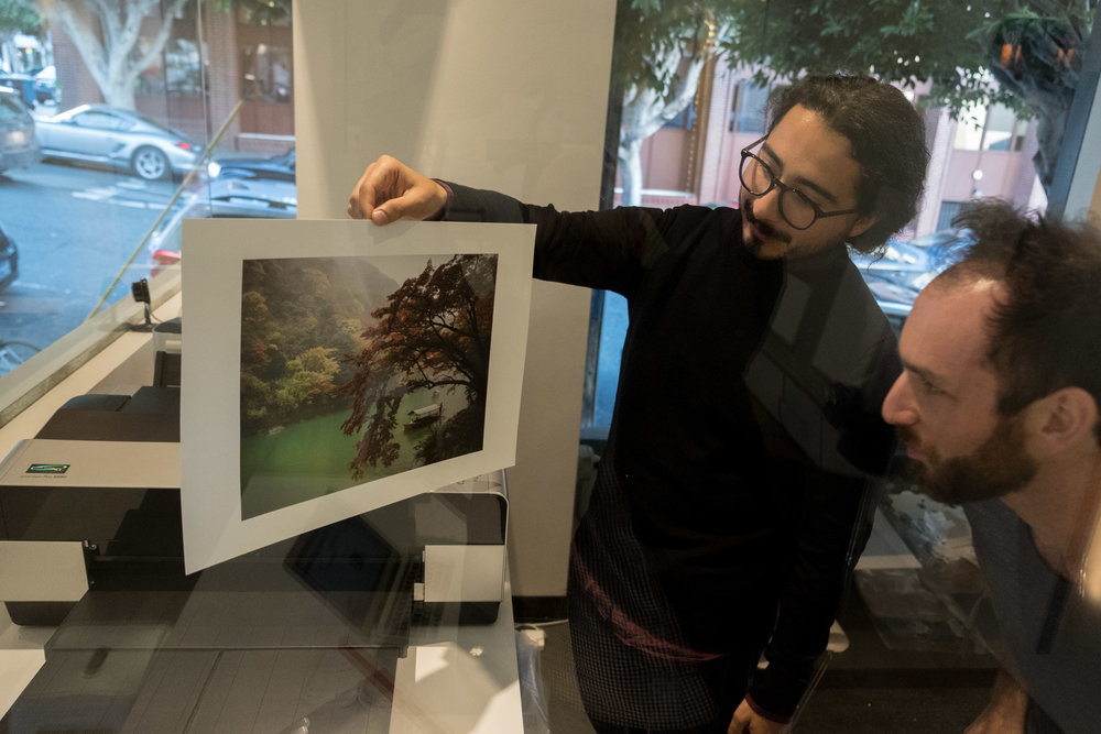 There's nothing quite like seeing an image you've taken get printed like artworks.