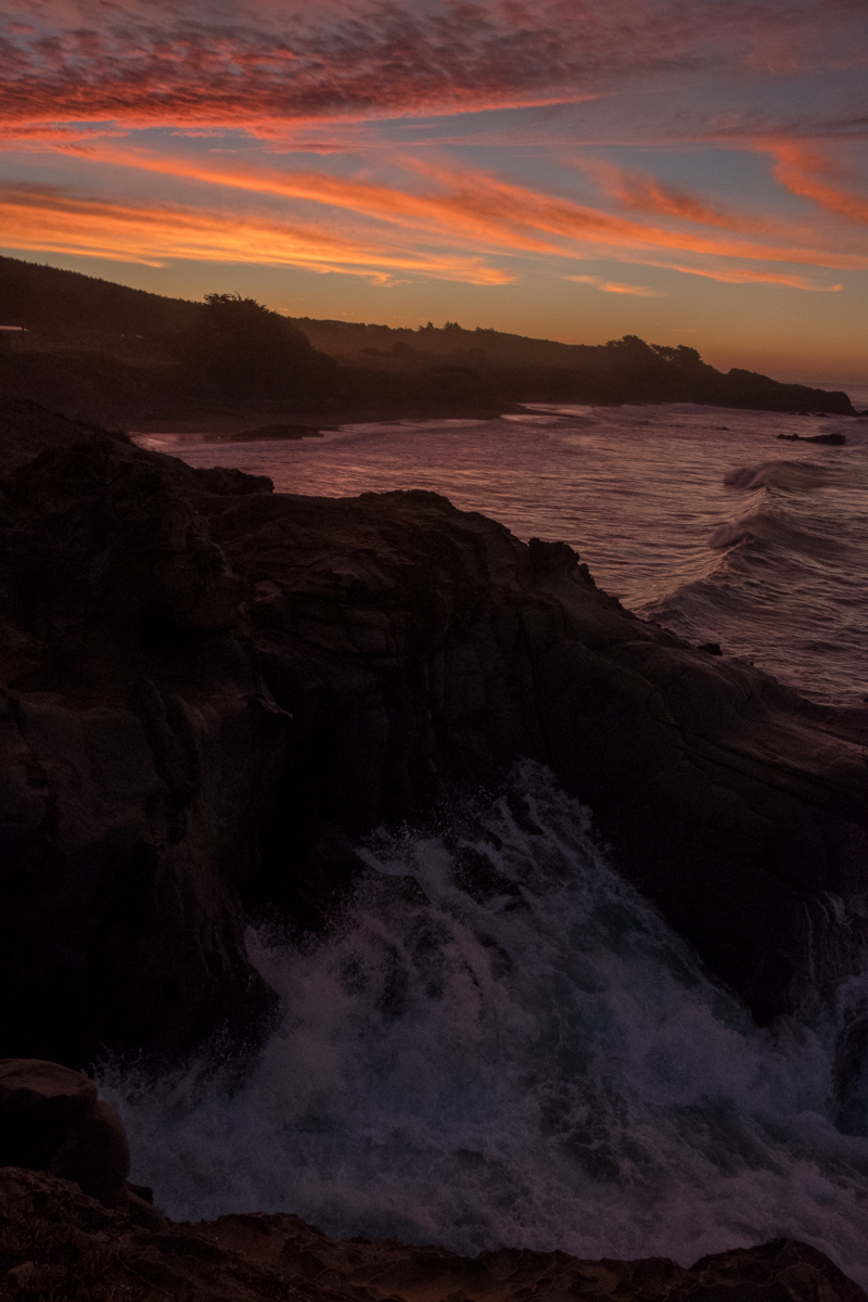 January 2019, Sunrise, Sea Ranch