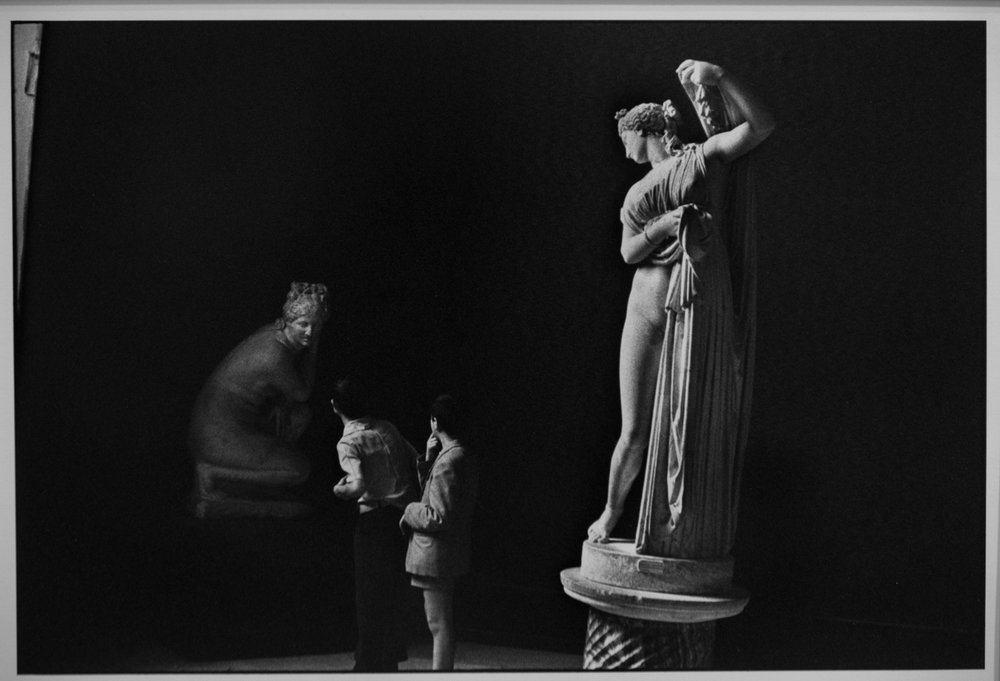 Museum, Naples, by Henri Cartier-Bresson (1962). Another one of the 50…