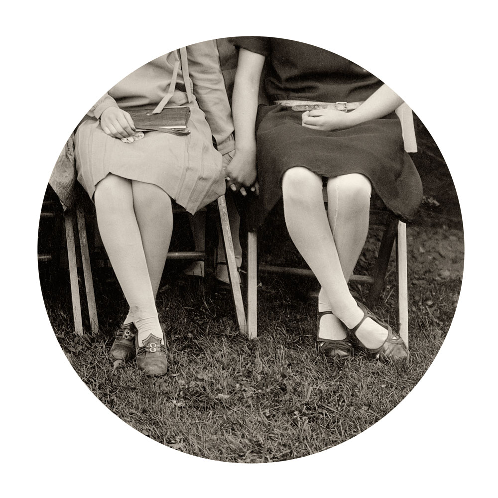"""Kris Sanford, """"Folding Chairs"""" 2011 from the series """"Through the Lens of Desire"""""""