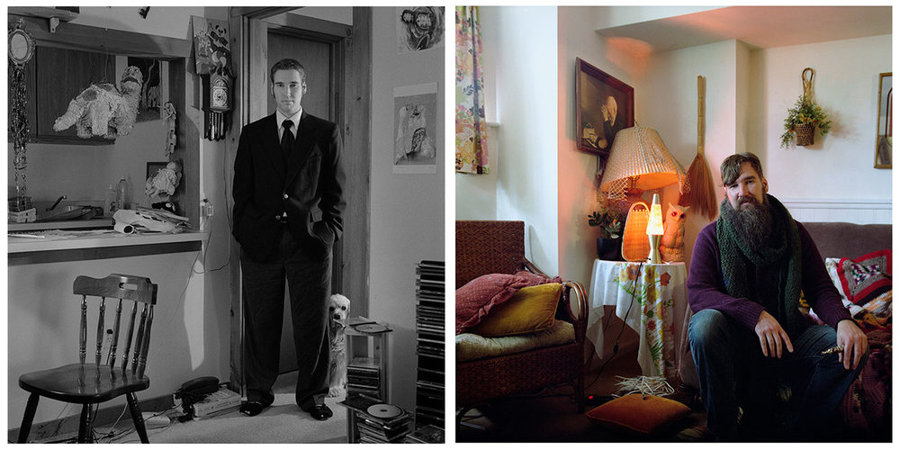 "Kris Sanford, ""Nathan"" 2000/2015 Portraits"