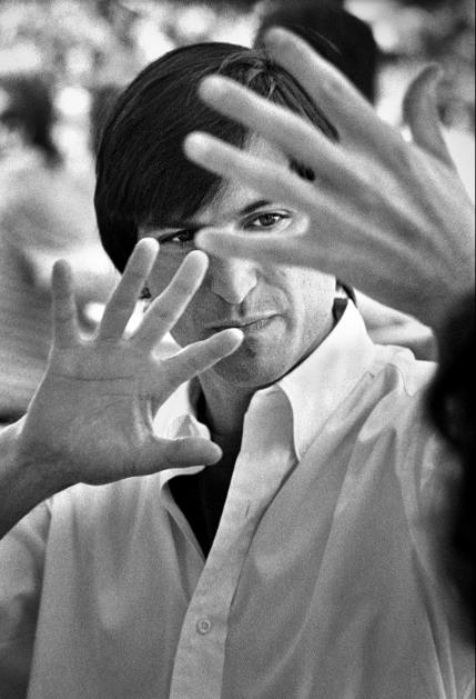 "Doug Menuez. ""Steve Jobs Explaining Ten Year Technology. Development Cycles. Sonoma, California"" (1986)"