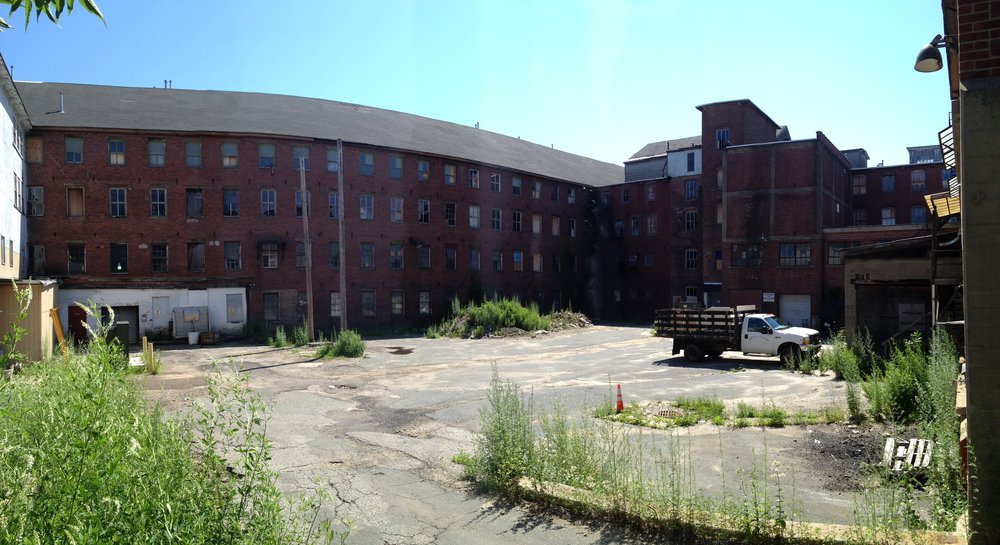 Before - panorama of courtyard.JPG