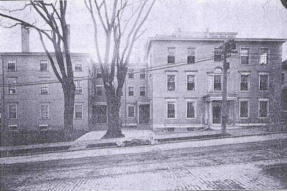 Historic - Children's Hospital from High St., 1912.jpg