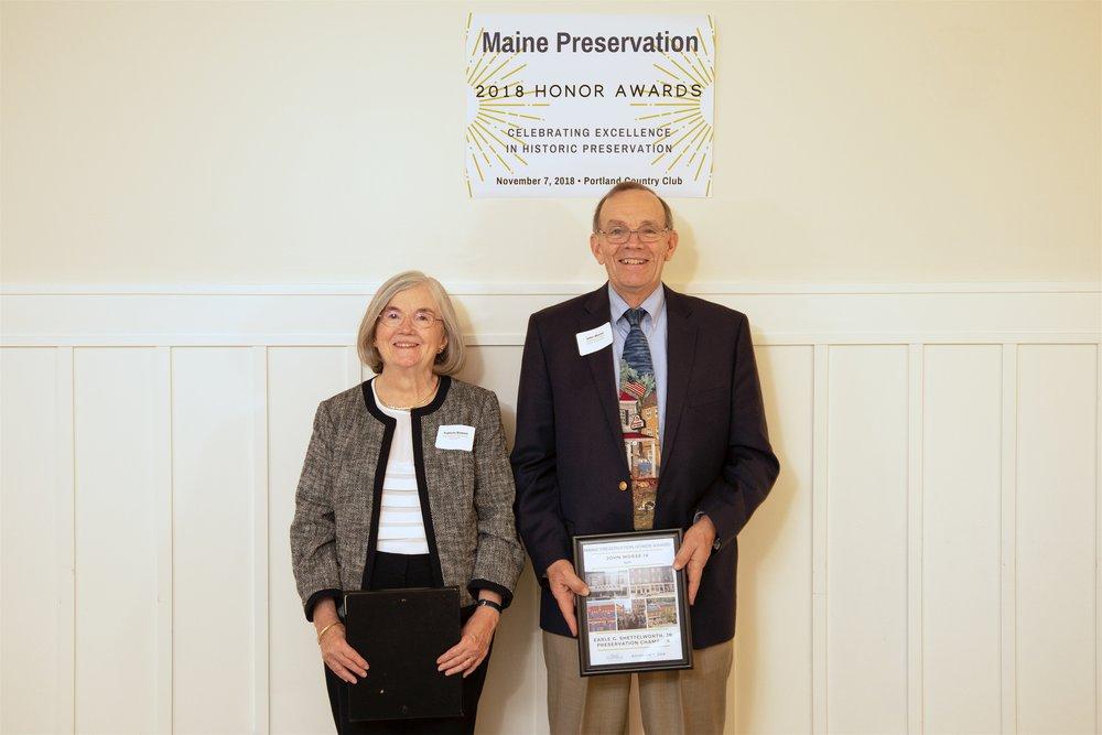Frances Bowen & John G. Morse IV