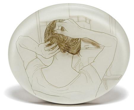 Melanie Bilenker - silver and hair