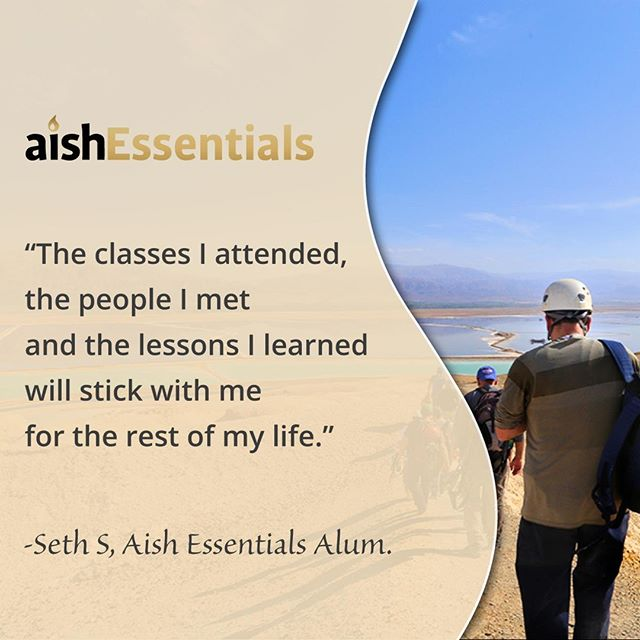 Thanks, Seth! We feel really glad you joined us, too! #Jerusalem #Israel #Learning #Growth #Torah #Education #Study #Israel #PersonalDevelopment