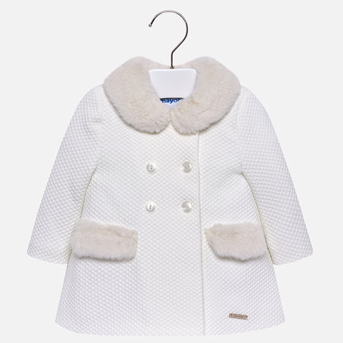 Cream Knit Pea Coat - Coming 10 31 — Main Street Baby cf942bb097f4