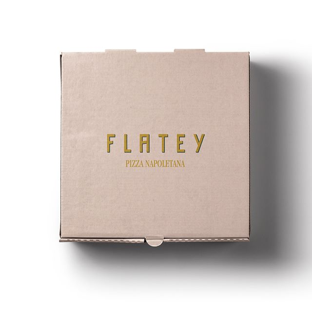 @flateypizza design by Studio Holt 🍕🍕
