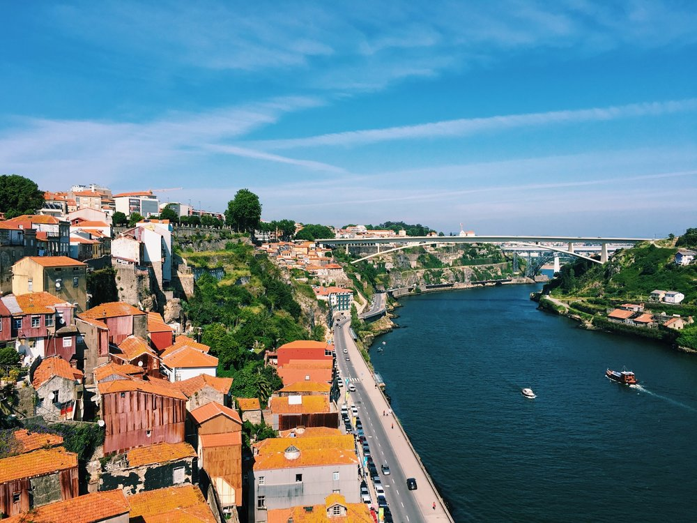 Fun fact: Many houses in Porto have orange rooftops!