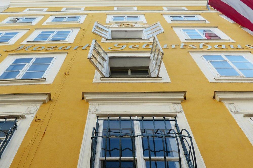 Mozart's Geburtshaus (Birthplace) -