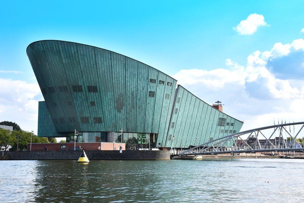 Nemo Science Museum Rooftop -