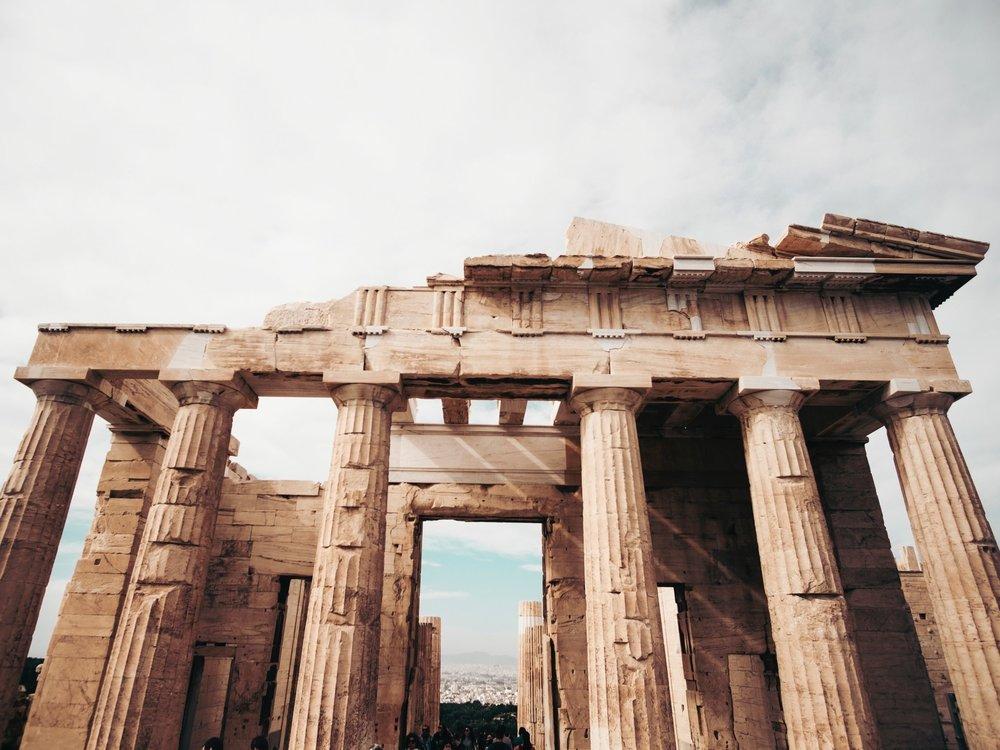 The Acropolis -