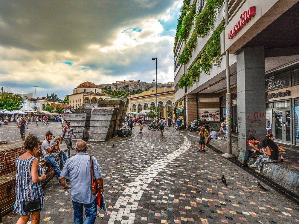 Monastiraki Flea Market -