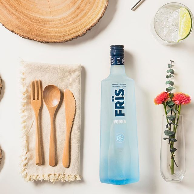 Frïs the day. #Fris #FrisVodka #Vodka
