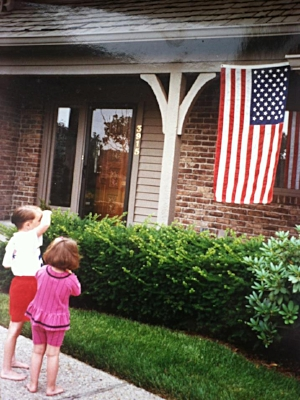 Flag Salute as Kid.jpg