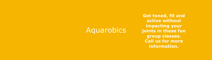 Aquarobics group classes gets you fit, toned, and active without impacting your joints. .-