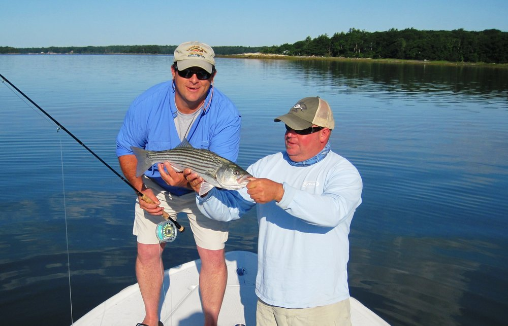 Mike Bradley and Capt. Eric Wallace (Bob Mallard).JPG