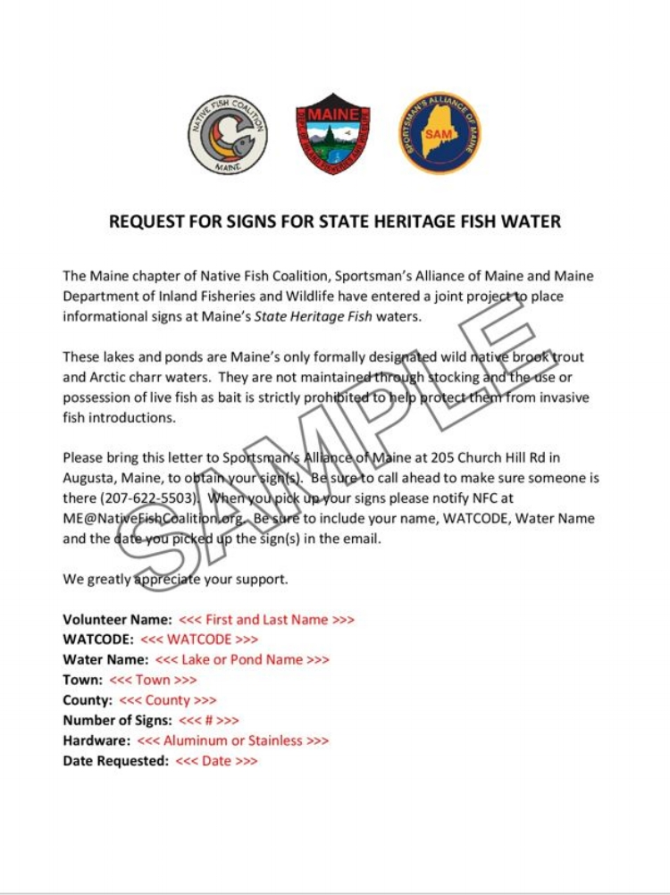 REQUEST FOR SIGNS FOR STATE HERITAGE FISH WATER-001 (For Posting).JPG