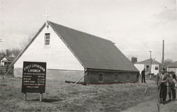The original First Lutheran Base Church