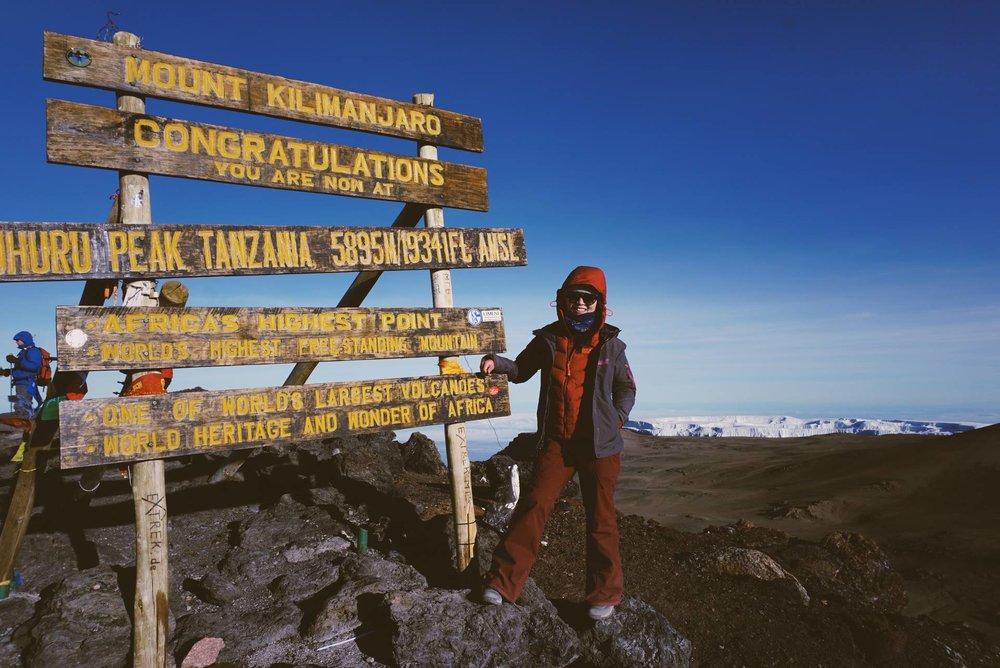 @Mt. Kilimanjaro, 2017.02