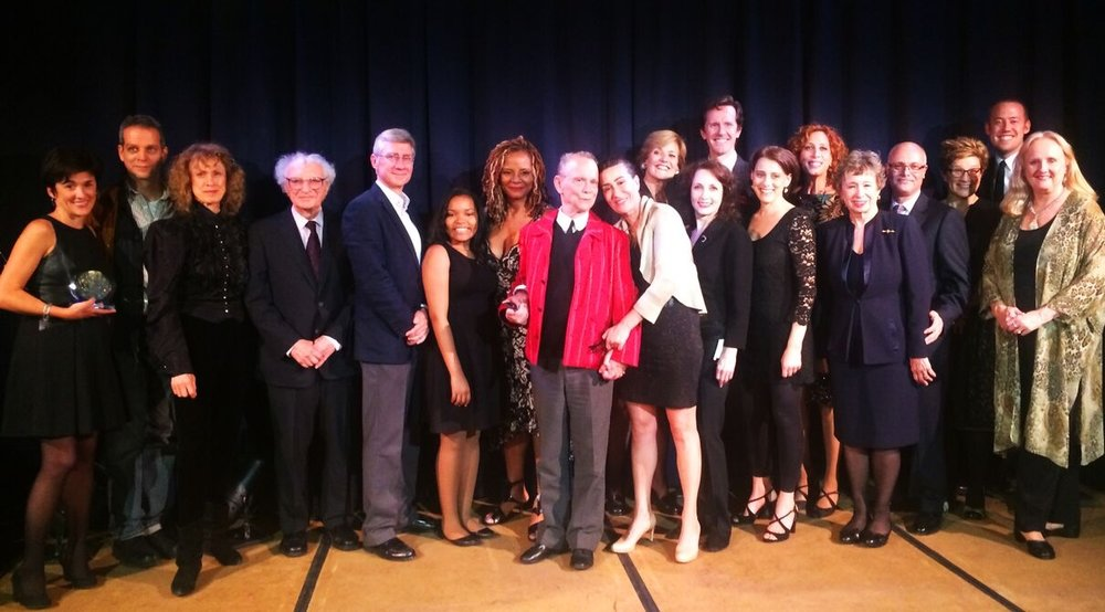 Honorees Joel Grey, Jeanine Tesori and Performers