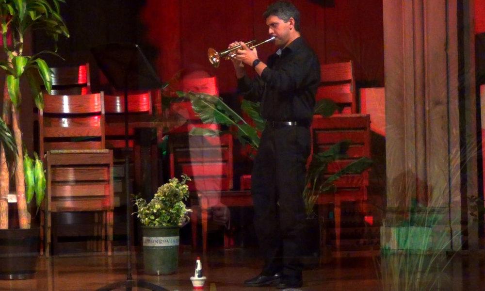 David Glukh, trumpeter