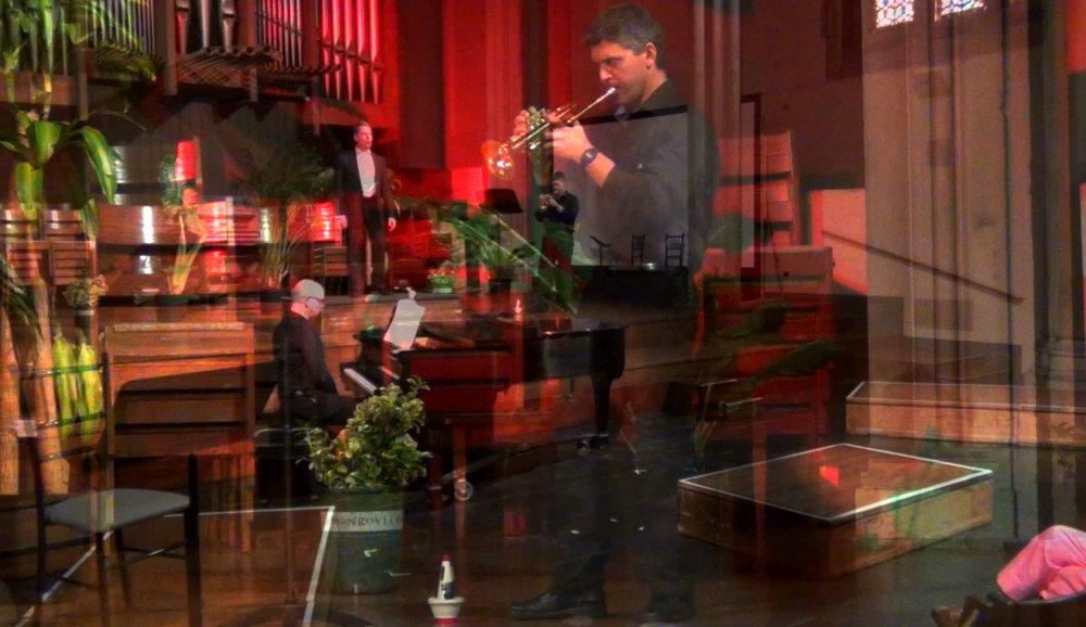 David Glukh (trumpeter) and Richard Pearson Thomas (pianist)