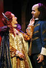 "Hai-Ting Chinn and Matthew Pena in ""The Dark Lady."" Credit Julieta Cervantes (courtesy of NYTimes).jpg"