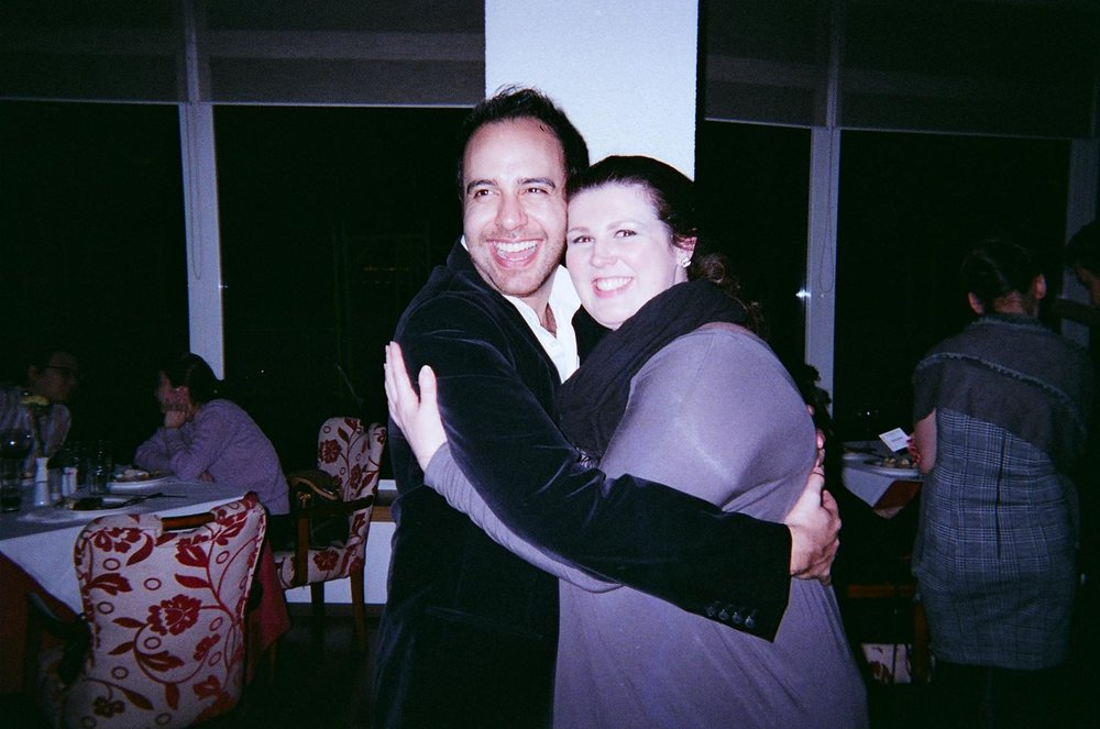 Jose Rubio and Elizabeth Baldwin