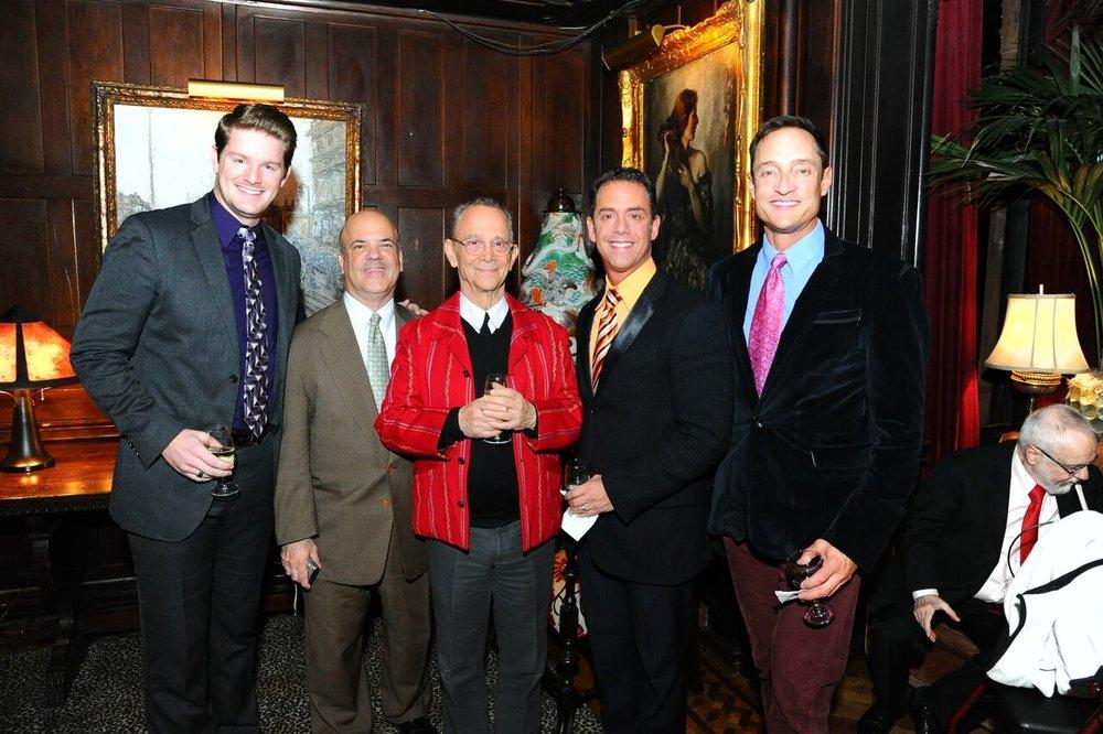 Michael Portantiere, guest, Joel, Bruce & Ed.jpg