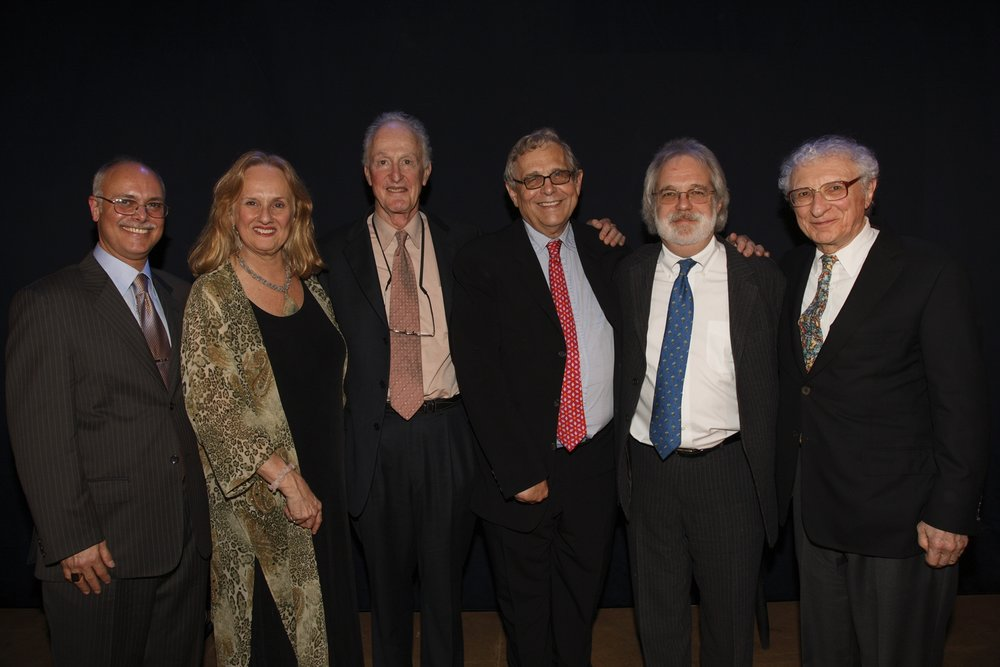 #3 Daniel De Siena, Encompass Board Chairman, Nancy Rhodes, Encompass Artistic Director, David Shire, Richard Maltby Jr., John Weidman, Sheldon Harnick.JPG
