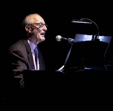 - David Shire at piano