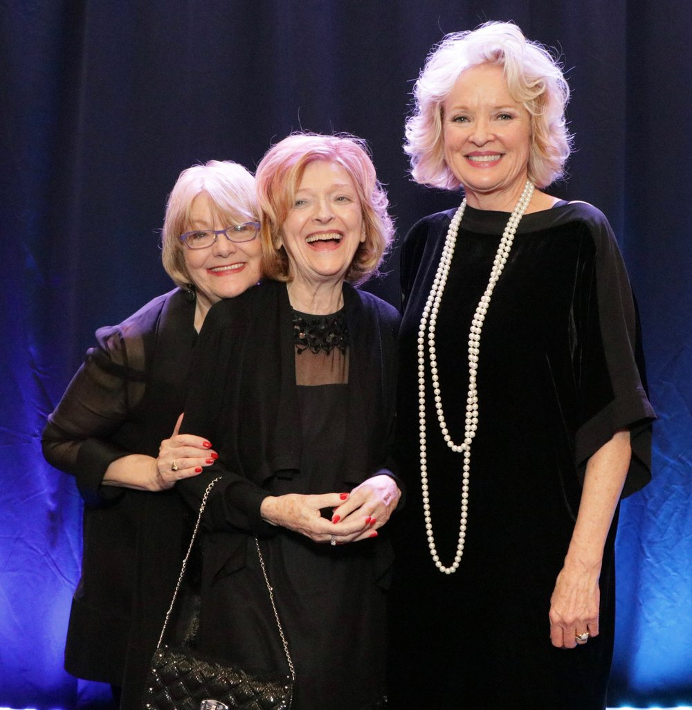 Pat Spille, Christine Ebersole & Friend.jpg