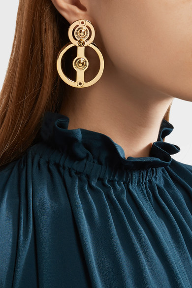 MARNI GOLD PLATED EARRINGS - 40% OFF