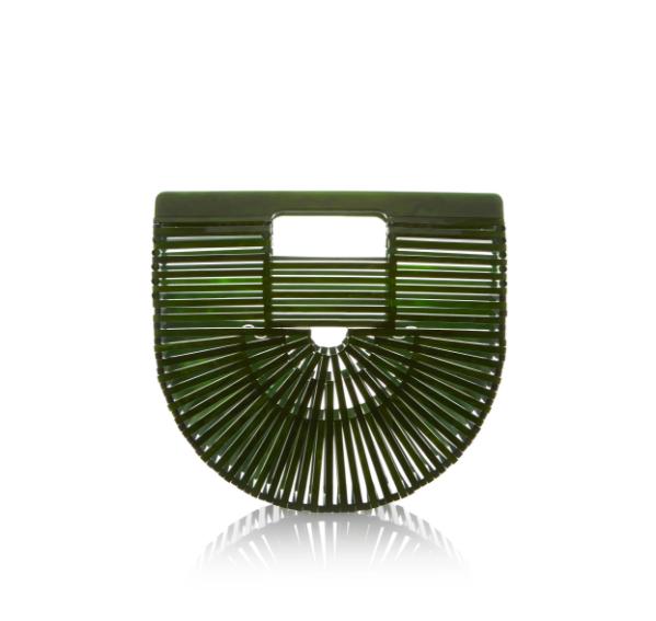 Cult Gaia Mini Acrylic Ark Bag  - $224