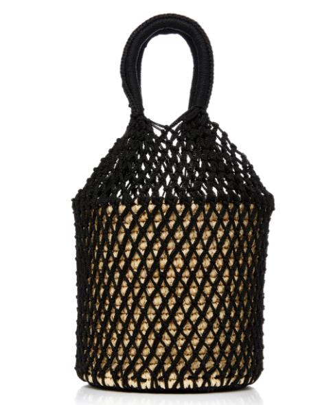Sensi Studio Netted Straw Tote Bag  - $168