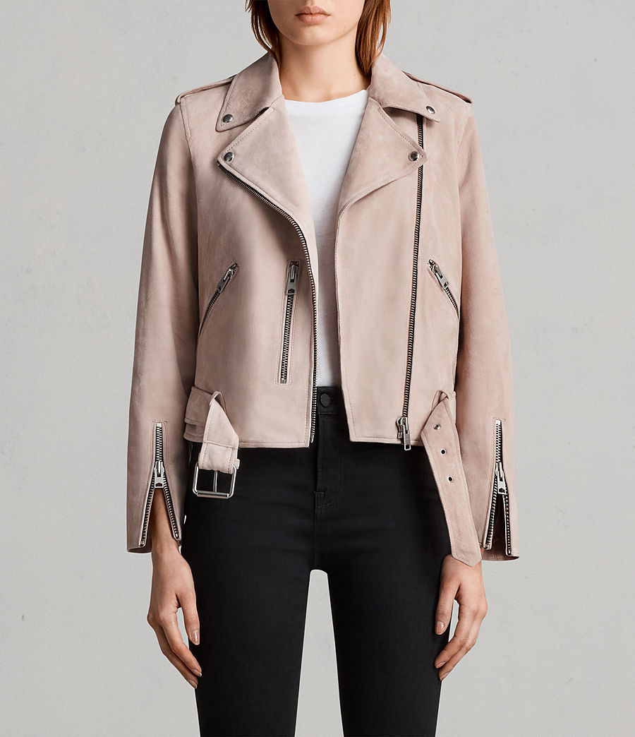 Suede Balfern Biker Jacket  - I got the exact same biker jacket and literally obsessed with it! I think it's perfect for some spring layering.