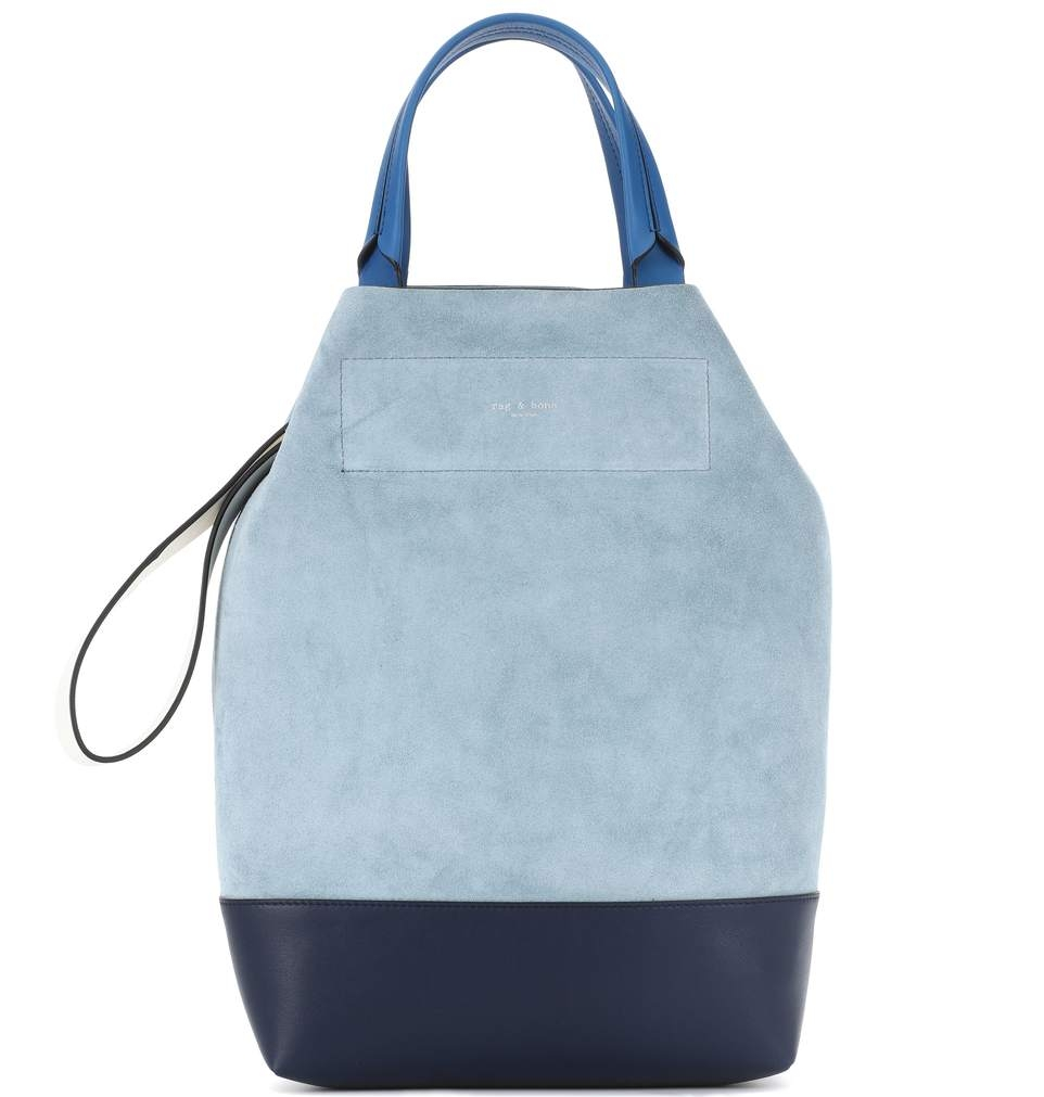 Rag & Bone Leather and Suede Tote  - $297 - 30% Off