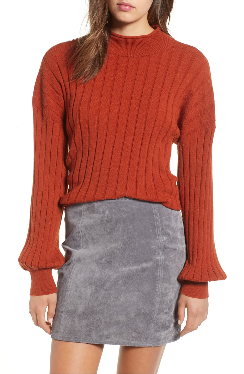 Leith - Easy Rib Pullover Sweater