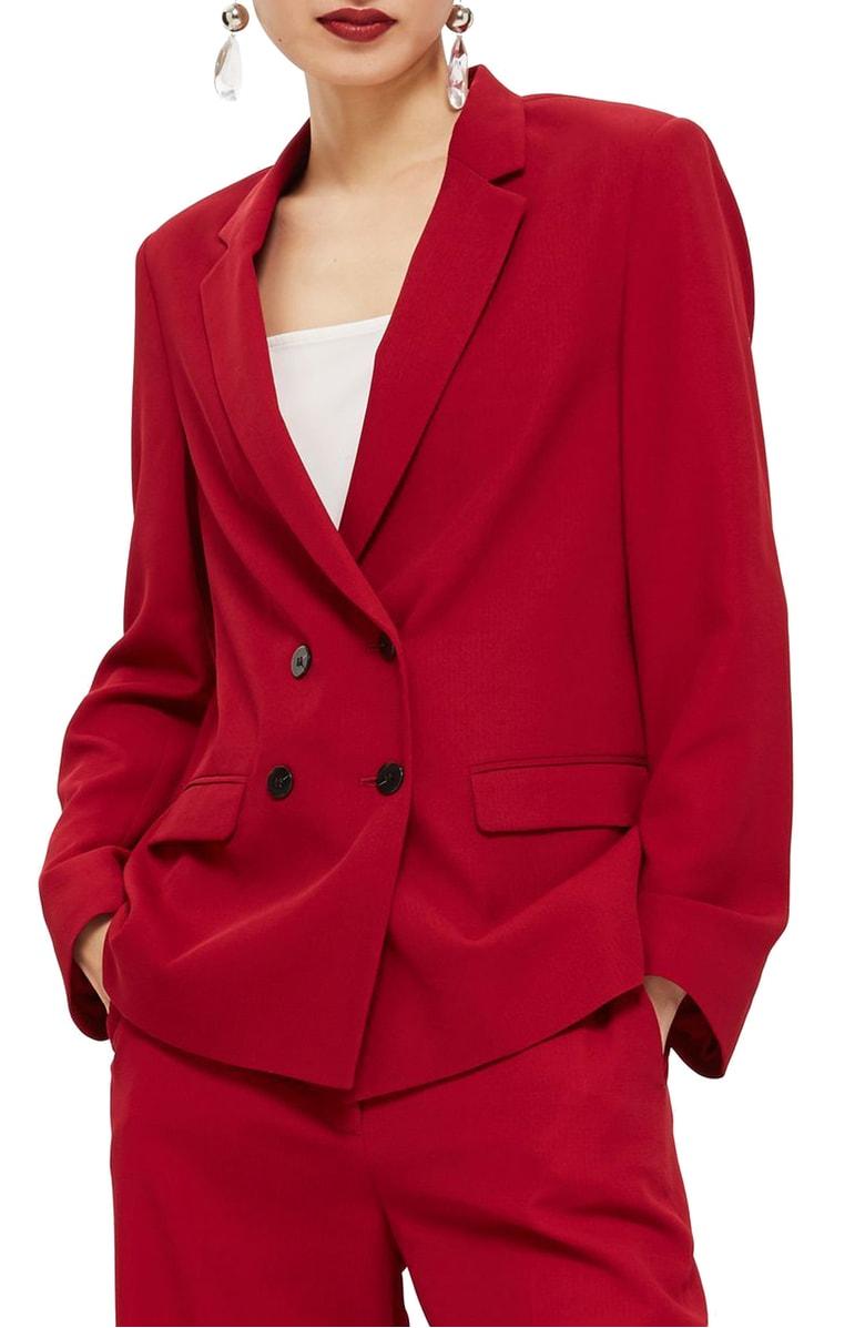 Topshop - Slouch Suit Blazer