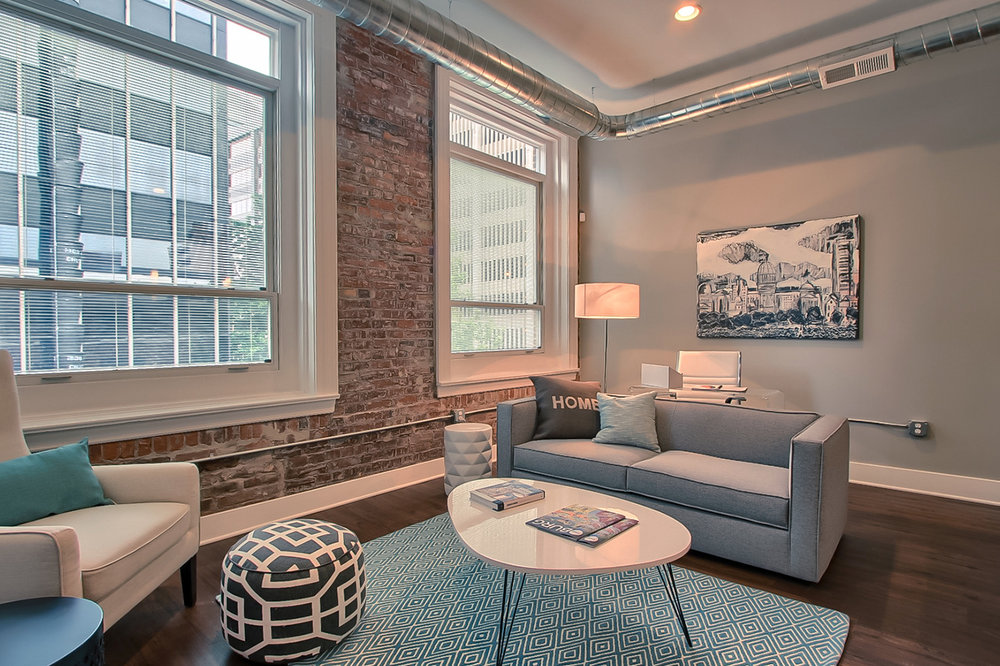 Perfect for you - 210 Walnut is located in the heart of Downtown Harrisburg. High ceilings, exposed brick, and large windows highlight this former office building converted to 21 luxury apartments.