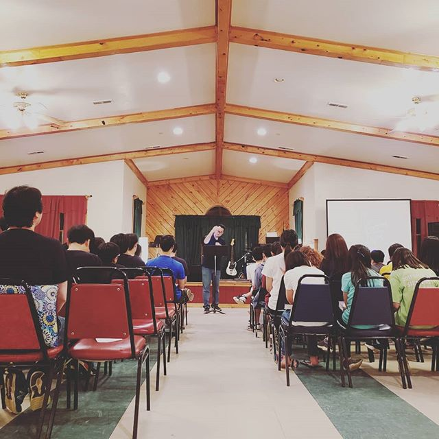 So excited to join @skbcyouth for their Spring Retreat! Please pray with us that the Lord will move, that hearts would be refreshed, and spirits restored.  #retreat #jesus