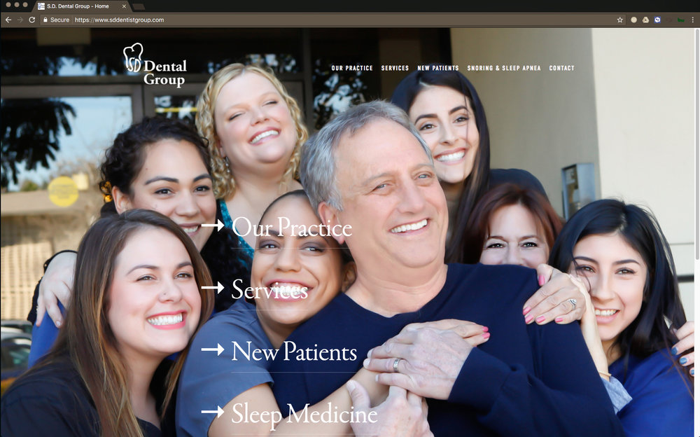 Website Design, Branding, Social Media SD Dental Group VIEW DETAILS