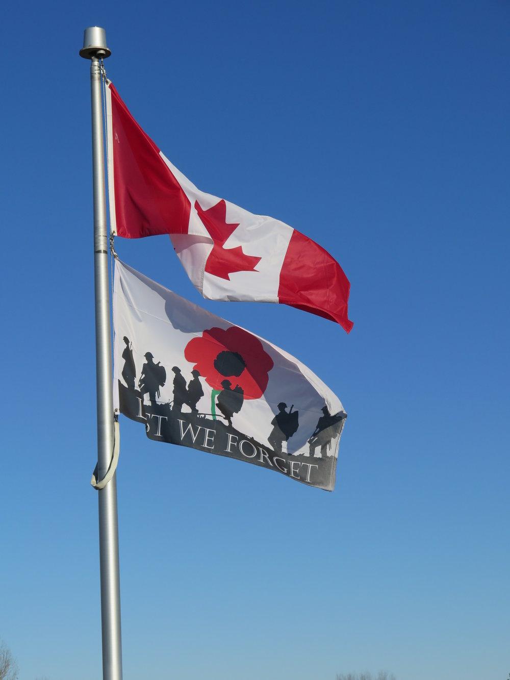 Rembrance Flag.JPG