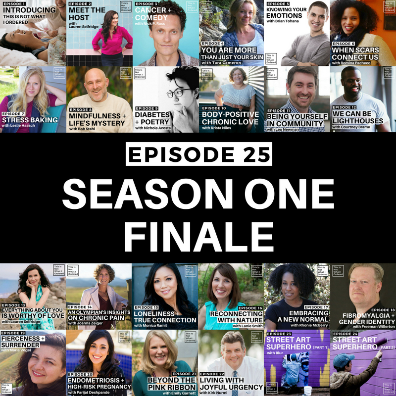 Episode 25: Season One Finale — This is Not What I Ordered